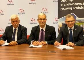 Tramwaje Śląskie pozyskały blisko 0,5 mld zł finansowania od Banku Pekao i BGK
