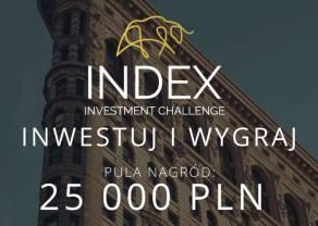 Trwają zapisy do konkursu INDEX Investment Challenge – na najlepszych inwestorów czeka 25000 złotych