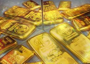 Układ harmoniczny na złocie