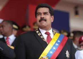 """""""Vamos, Nico"""" - Nicolas Maduro delektuje się wygraną"""