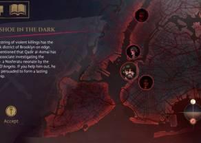 Vampire The Masquerade – Coteries of New York w kolejnym tygodniu dostępny na Nintendo Switch i PlayStation 4!