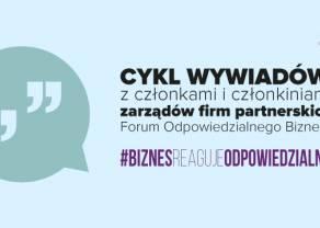 W czasie pandemii #BiznesReagujeOdpowiedzialnie. Rozmowy z prezeską IKEA Retail Polska oraz dyrektor wykonawczą BNP Paribas Bank Polska