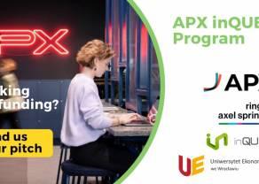 Wsparcie dla startupów w Polsce: inQUBE strategicznym partnerem  dla APX i Ringier Axel Springer Polska.