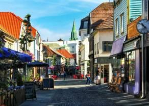 Wyjątkowo tania korona norweska. Sytuacja techniczna kursu euro do korony norweskiej EUR/NOK na interwale miesięcznym i tygodniowym. Forex