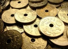 Wykres tygodnia - Kurs euro do korony norweskiej blisko 9,80!