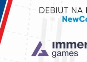 Zaproszenie na debiut na rynku NewConnect – IMMERSION GAMES S.A. – 13 września 2021 r., godz. 11:30