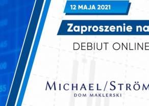 Zaproszenie na debiut online na Głównym Rynku certyfikatów inwestycyjnych wyemitowanych przezMICHAEL/STRÖM Obligacji KorporacyjnychFIZ