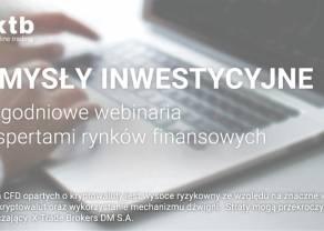 Zbigniew Wieczorek i jego pomysły inwestycyjne tygodnia - już dziś!