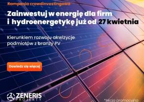 Zeneris Projekty 27 kwietnia rozpoczyna przyjmowanie zapisów w II transzy emisji akcji. W bieżącym roku spółka planuje debiut na rynku NewConnect