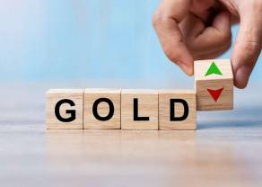 Cena złota pozostaje podatna na ponowne testowanie miesięcznych minimów i dalsze spadki. Rejony 1760 dolarów za baryłkę w grze
