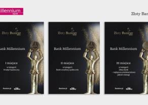 Złoty Bankier - Bank Millennium z najlepszym kredytem hipotecznym oraz na podium w wielokanałowej jakości obsługi