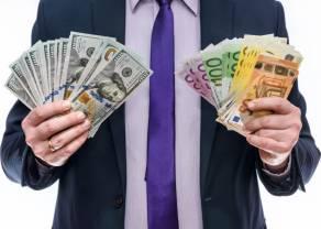 Złoty PLN, dolar USD, funt GBP i euro EUR w poniedziałek 10 maja. Kalendarz ekonomiczny forex
