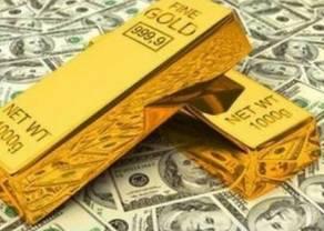 Zwyżka ceny złota została zatrzymana w okolicy 1324 dolarów za uncję