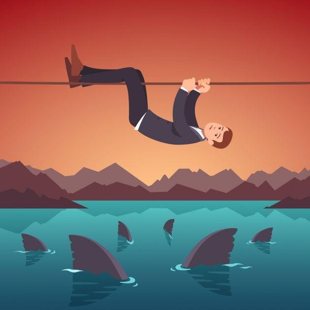 4 ryzyka na kryptowalucie bitcoin (BTC)- czy to zapowiedź nadciągających kłopotów?