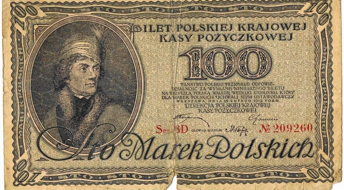 99 lat temu marka polska stała się waluta narodową. Burzliwa historia najkrócej obowiązującej waluty