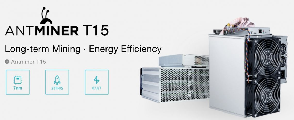 Antminer S15 - znamy parametry najmocniejszej koparki BTC od Bitmain