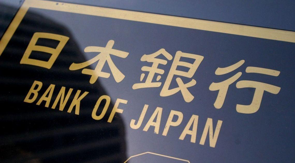 bank japonii jen