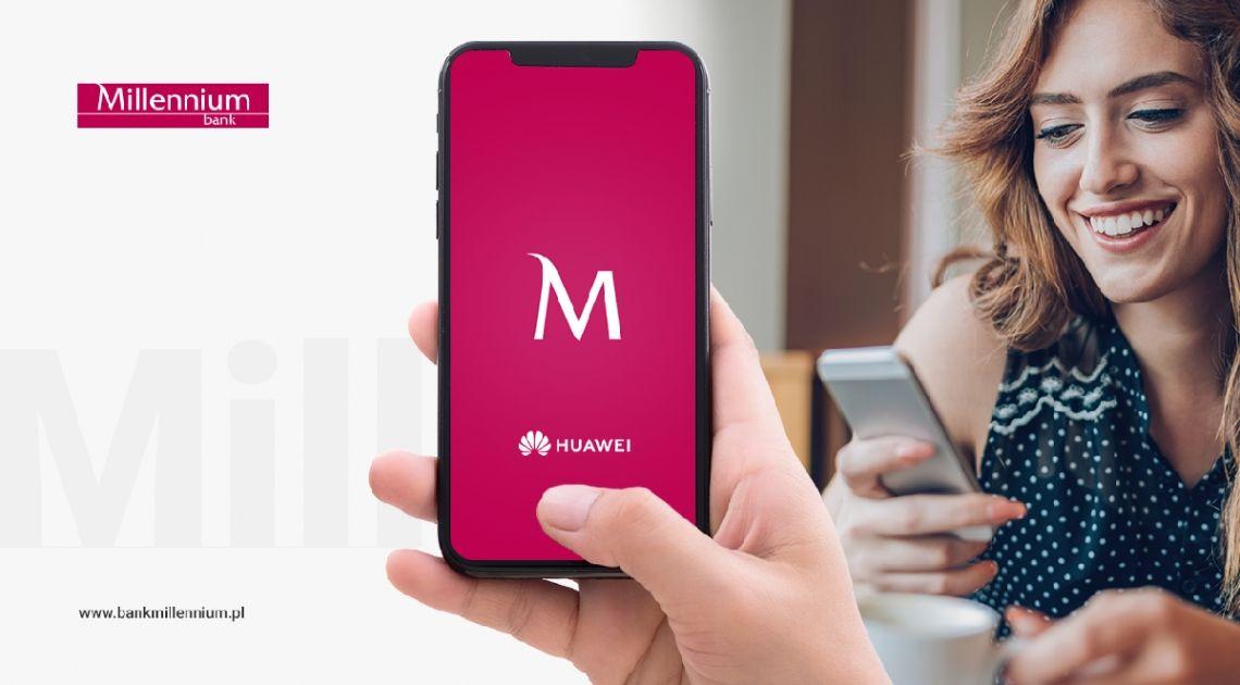 Bank Millennium nawiązał współpracę z Huawei