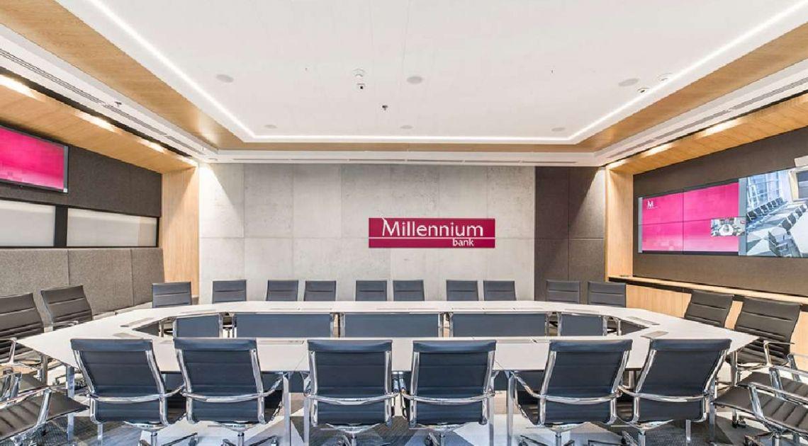 Bank Millennium zmniejszy emisję CO2 o kolejne 500 ton rocznie dzięki oświetleniu od Signify