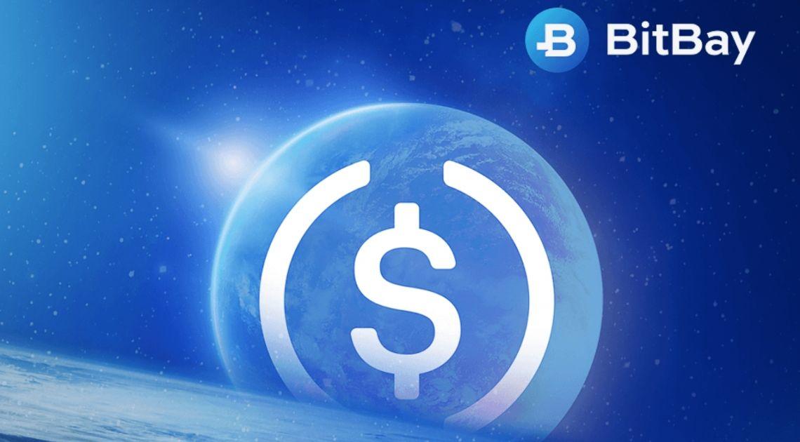 BitBay jako pierwsza polska giełda wprowadza stable coina - USD Coin (USDC)