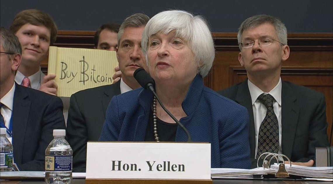 """Bitcoin jest """"całkowicie bezużyteczny"""", wg byłej szefowej FED"""