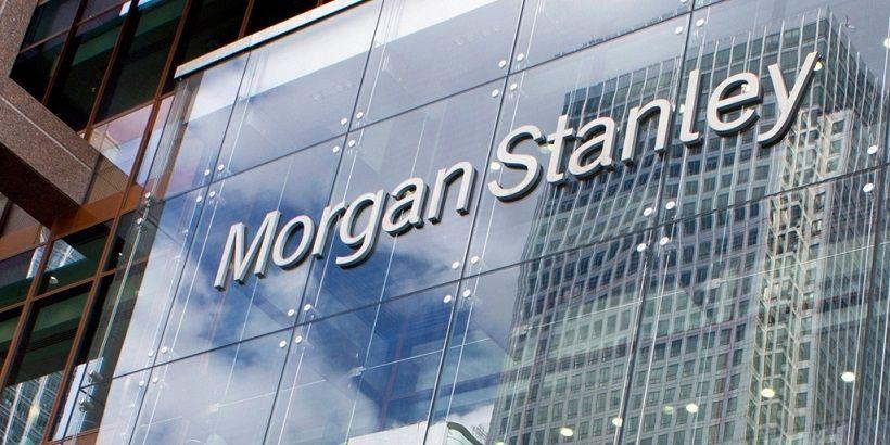 Bitcoin kryptowaluty Morgan Stanley