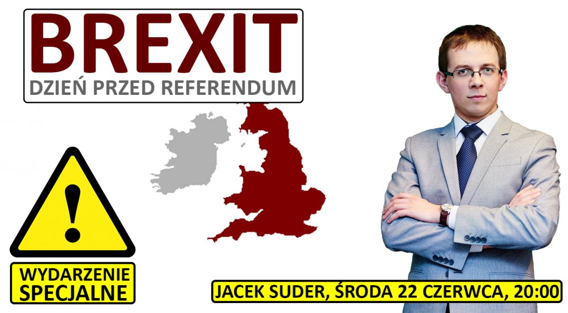 """""""BREXIT na dzień przed referendum"""" - zapisz się na webinar! [22.06 20:00]"""