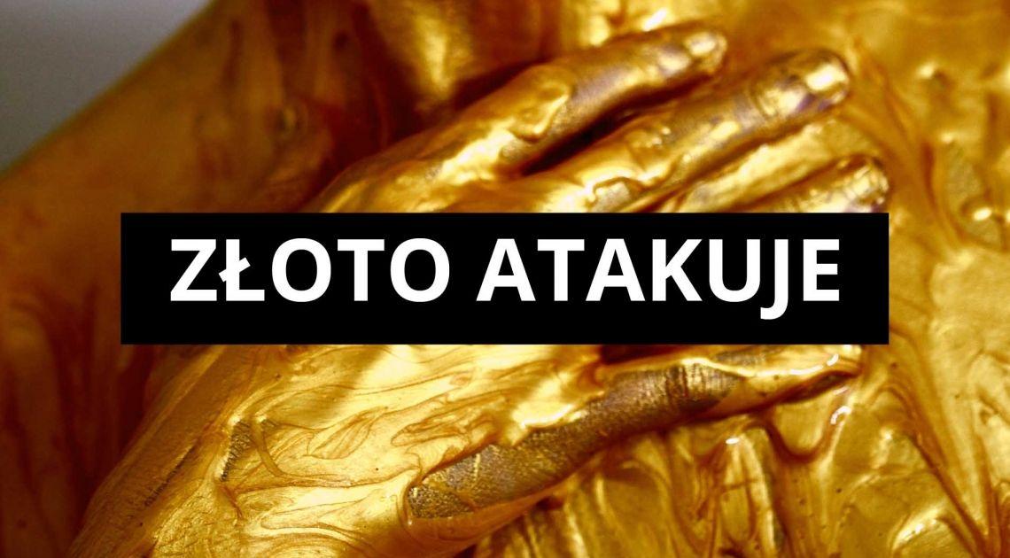 Cena złota lada moment przełamie maksimum. Bitcoin w uśpieniu. Analiza indeksów, surowców, walut