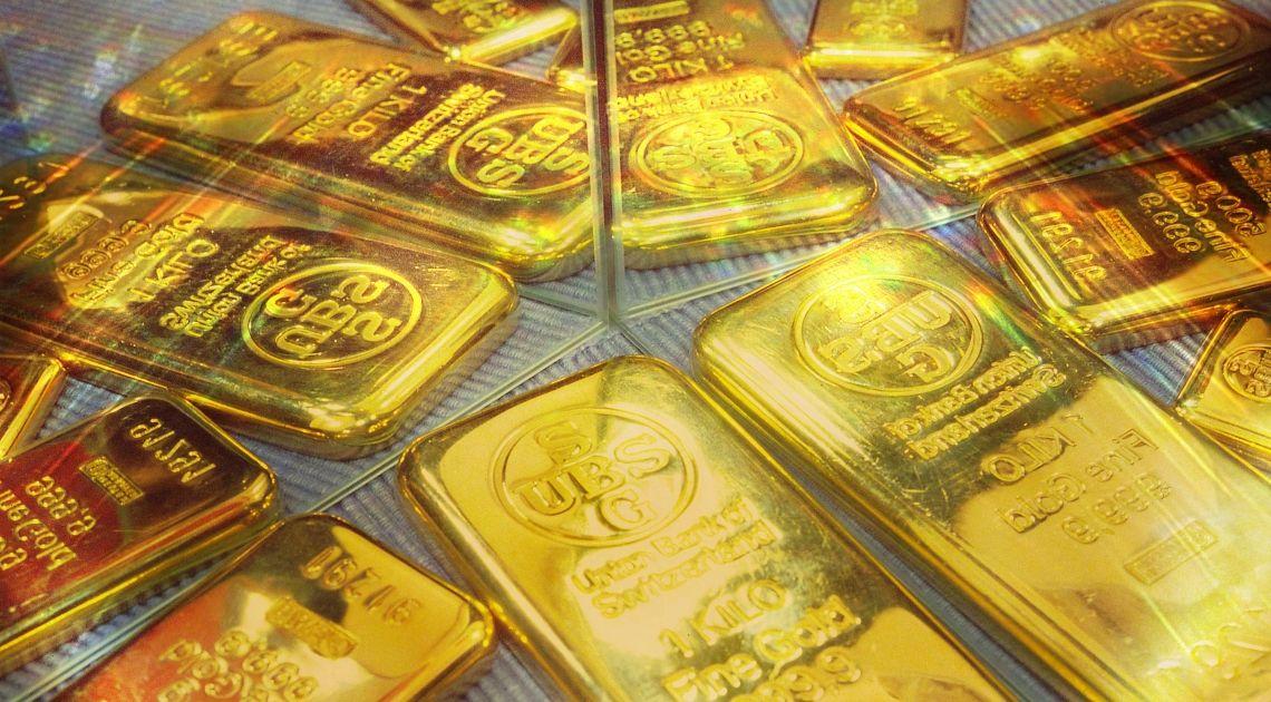 Cena złota reaguje na kluczowy opór - czas na spadki?