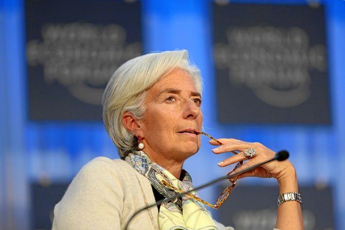 Obecna szefowa Międzynarodowego Funduszu Walutowego - Christine Lagarde