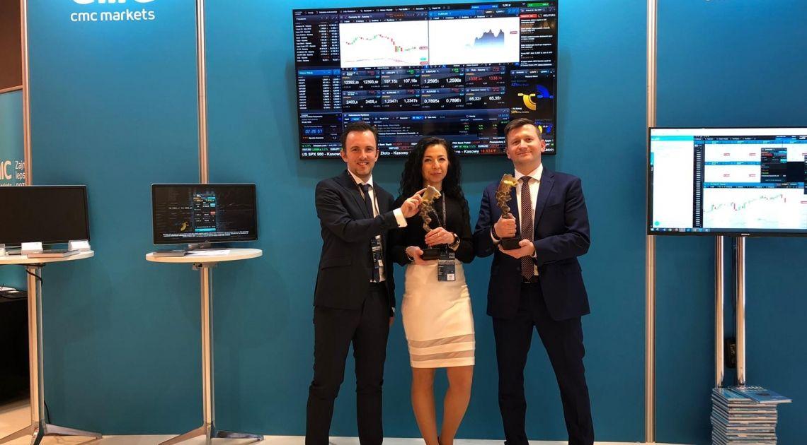 CMC Markets najlepszym zagranicznym brokerem CFD i Forex w konkursie Invest Cuffs 2019