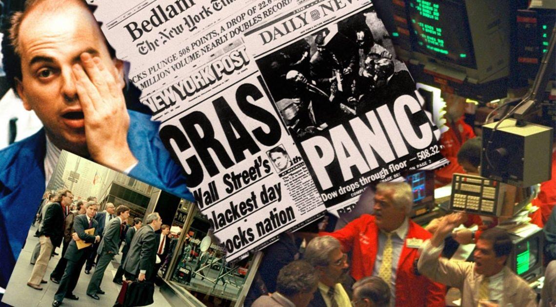 Czarny Poniedziałek - największy krach w historii amerykańskiej giełdy pełen tajemnic