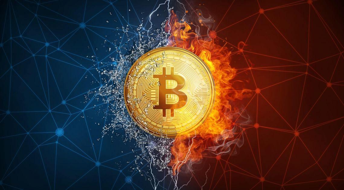 Bitcoin w żywiołach