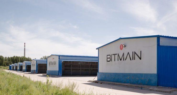Bitmain ASIC Bitcoin kryptowaluty mining