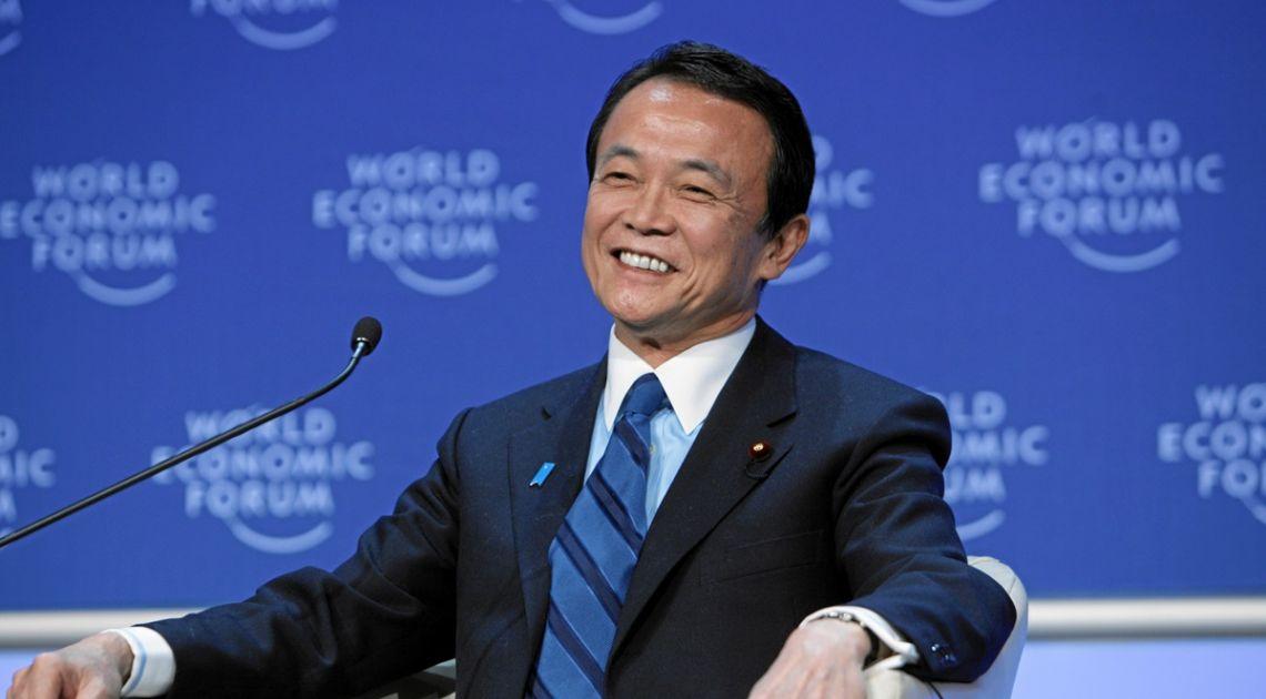 minister finansów japonii