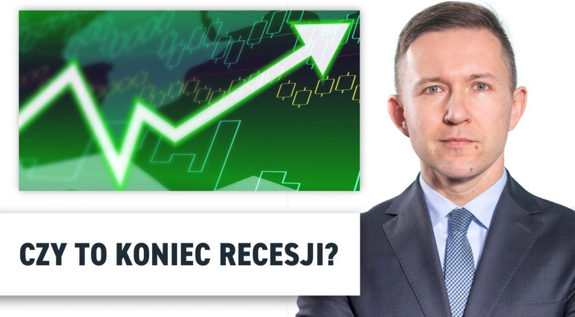 Czy to koniec recesji? - dr Przemysław Kwiecień analizuje rynki finansowe. Euforia po raporcie NFP