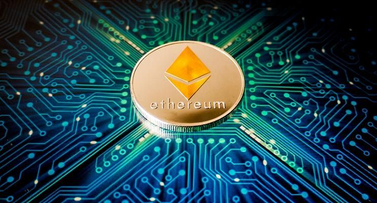 Ethereum blockchain kryptowaluty