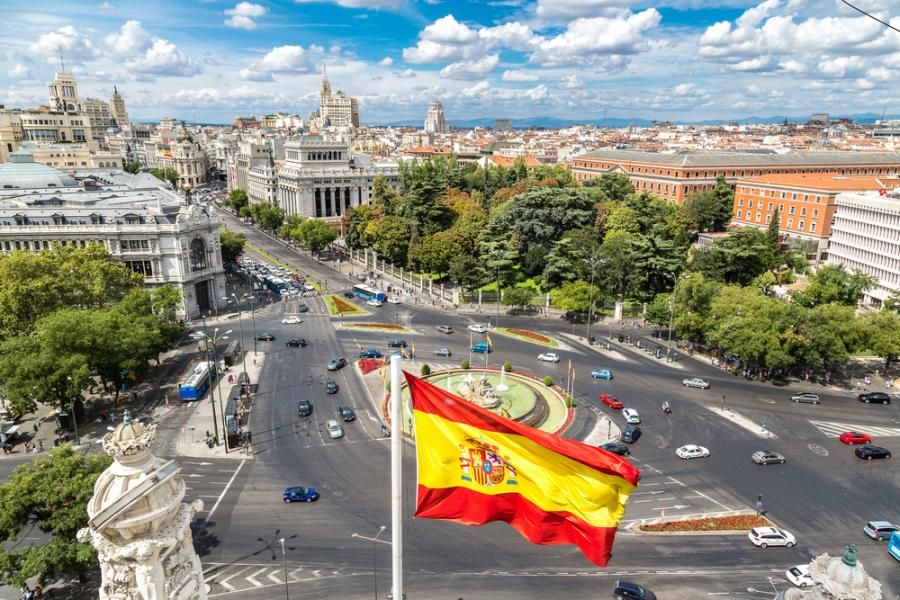 dług hiszpania