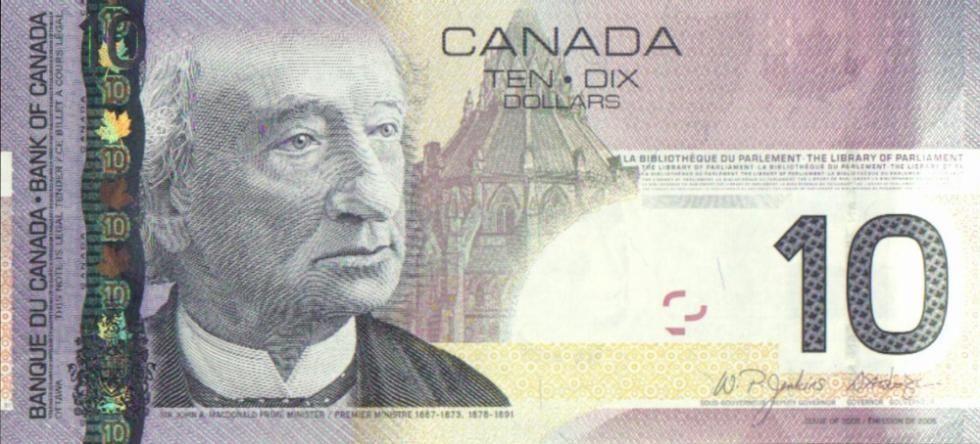 Dolar kanadyjski CAD - historia powstania