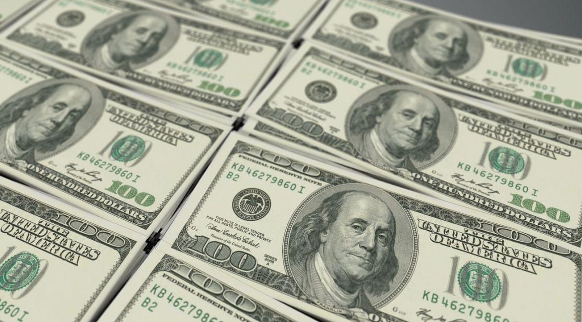 dolar banknot pieniądze