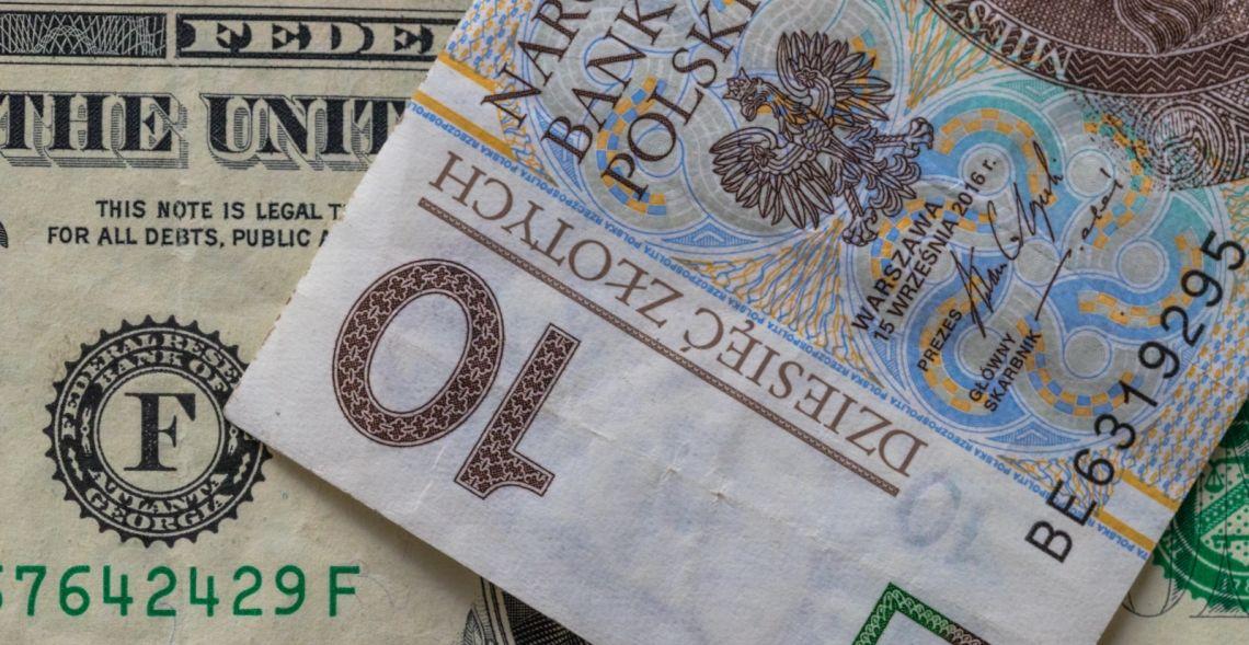 Dolar po 3,77 zł. Euro nad 4,44 PLN. Frank powyżej 4,12 zł. Funt ponad 4,88 złotego. Sytuacja na rynku Forex