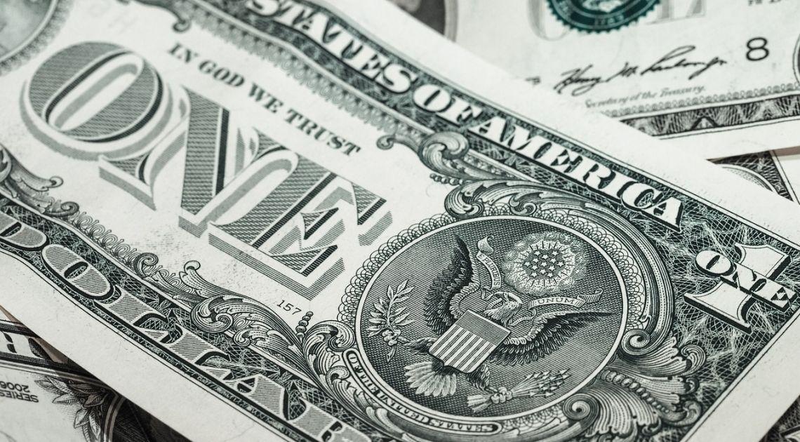 dolar banknot pieniądz