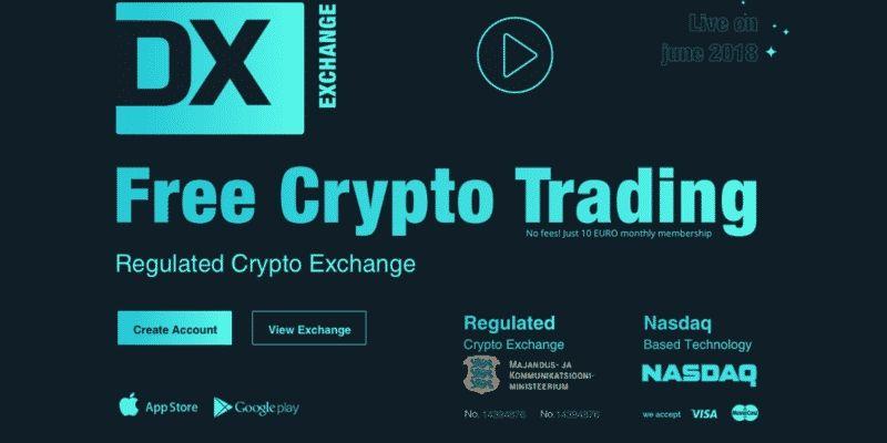 NASDAQ DX kryptowaluty giełda