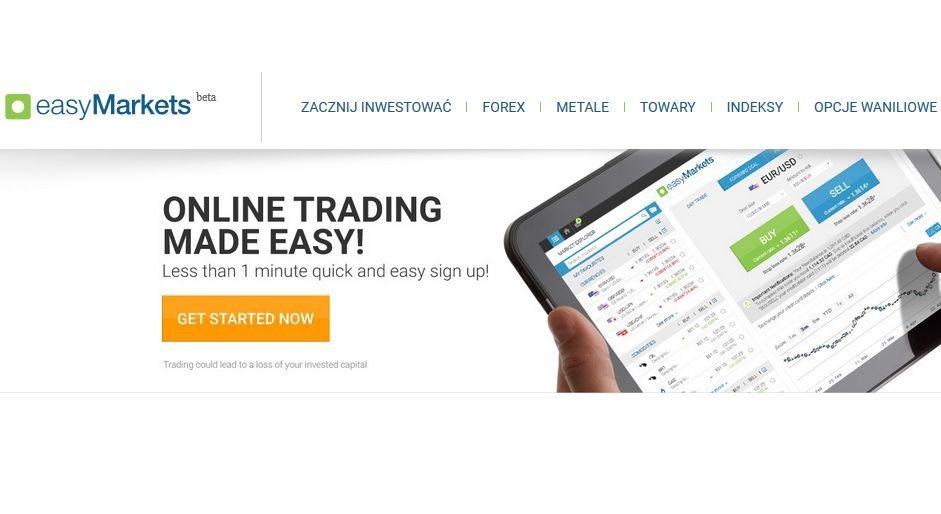 EasyForex odświeża markę - poznaj EasyMarkets