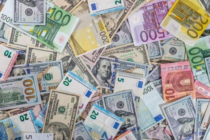 euro dolar frank funt złoty