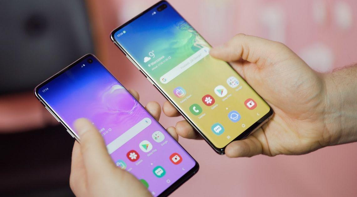 Flagowy Samsung Galaxy S10 będzie też portfelem sprzętowym