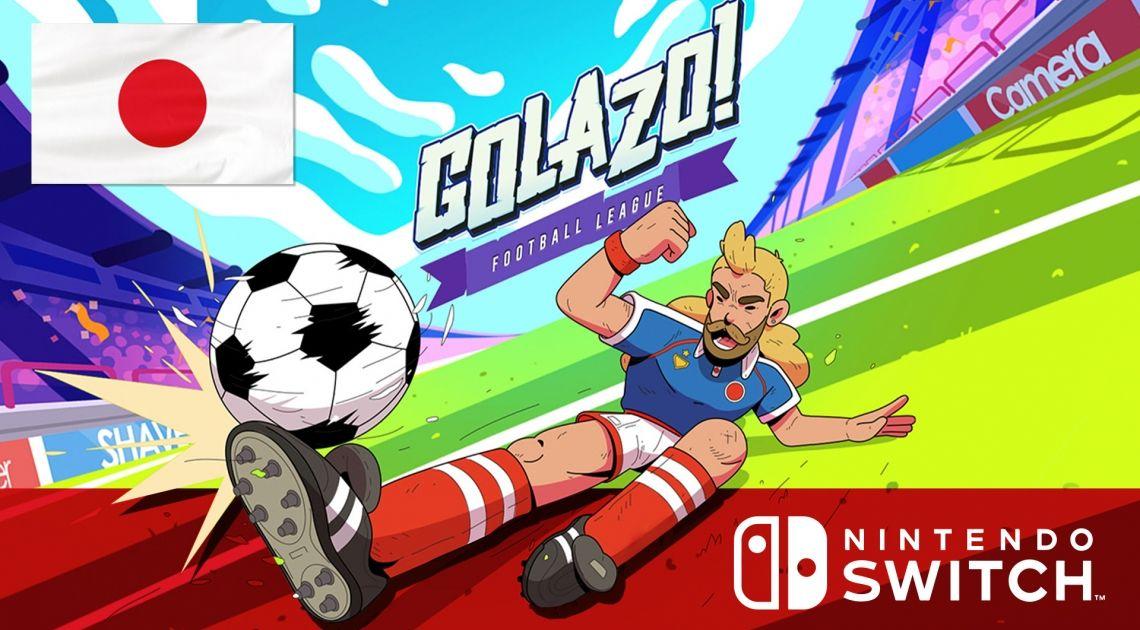 Golazo, kolejna gra Kabatera zadebiutuje w Japonii w wersji na Nintendo Switch
