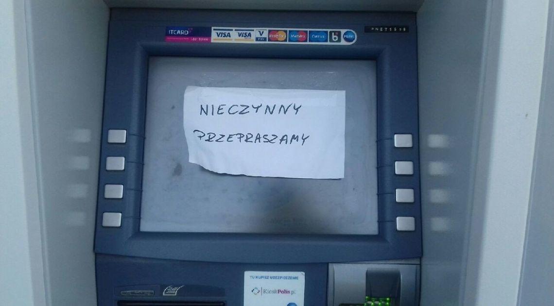 Nie taka łatwa i szybka gotówka z bankomatu! Za kilka lat możemy zostać bankomatową pustynią