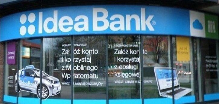 Idea Bank ponad 10% w górę, Getin i Santander na sporym plusie. JSW i KGHM mocno w dół, Lotos też na czerwono