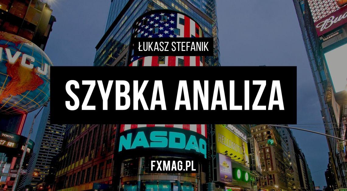 Kluczowy opór na NASDAQ | Szybka analiza (10 kwietnia)